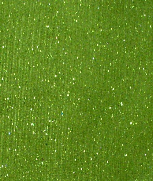Pro dekoraci - třpytivý tyl - svetlo zelený