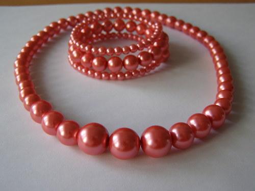 náramek a náhrdelník pro malé princezny