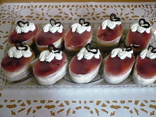 semifreda-jahody v želé/ODBĚR V HLUČÍNĚ