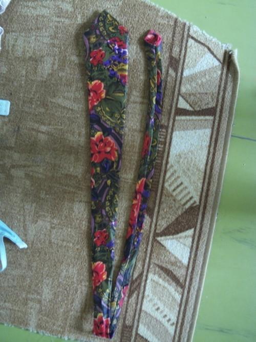 Psychedelická hippie kravata