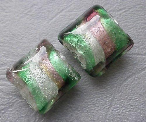 Pruhované polštářky - 2ks