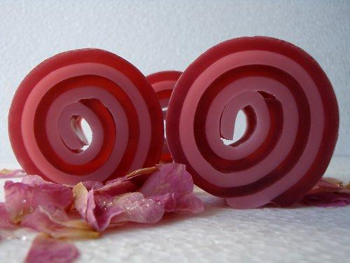 Spirála_růžové dřevo