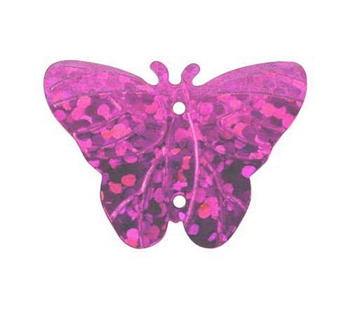 Flitry - růžový motýlek 3 g             =10387-192
