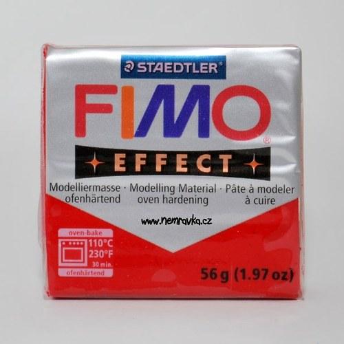 FIMO Effect / Glitter červená (202)