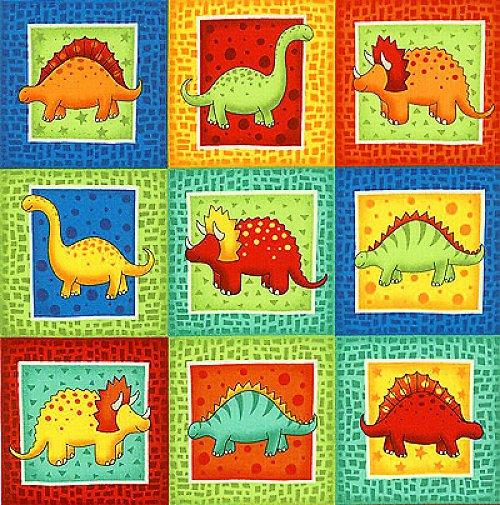 Dinosauři - nažehlovací obrázky