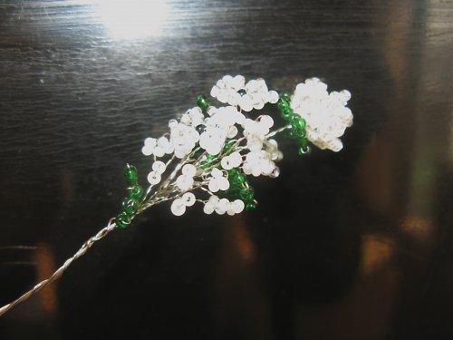 Korálková kytička