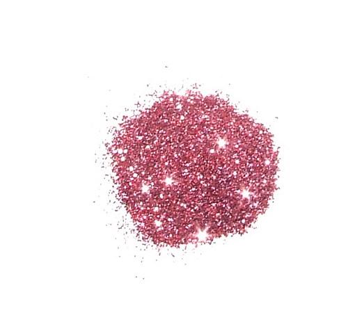 Třpytivý prach ledově růžový-červený #30  4gramy