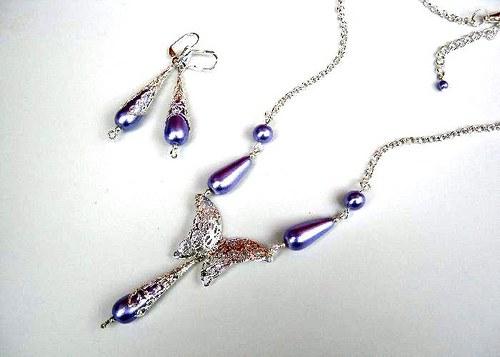 Violette lace II. set