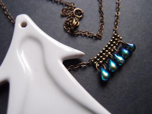 Krátký náhrdelník \'\'MMXIIII\'\' model  černý