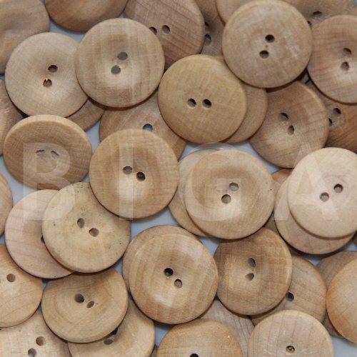 dřevěné knoflíky průměr 18mm