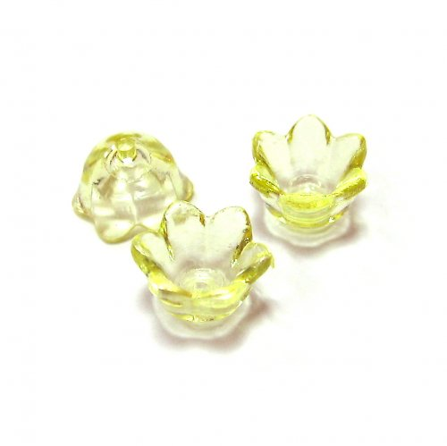 Květinka - žlutá - 4 ks