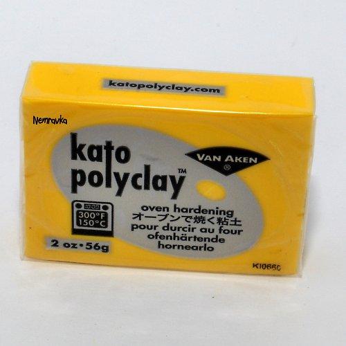 Kato Polyclay / profi polymerová hmota / Žlutá