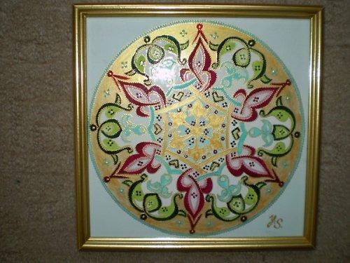 Orientální mandala-Poznání