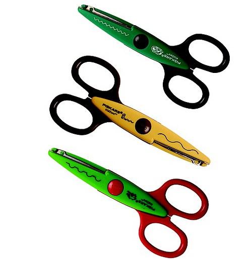Dětské ozdobné nůžky Kidzors - Zvířata z bažin 3ks