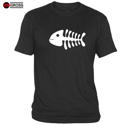 Pánské tričko FISH BONES I