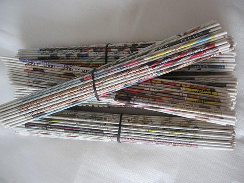 Papírové ruličky -100 kusů