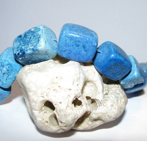 Chalk tyrkys BLUE 20 x 16 mm