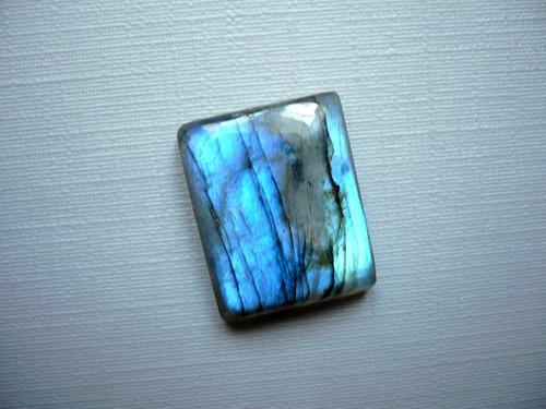Kabošon - labradorit modrý 19 mm, č.220