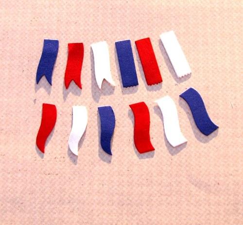 Vlaječky - 12 ks