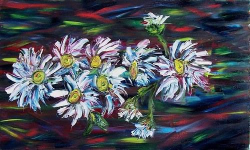 Létající květy