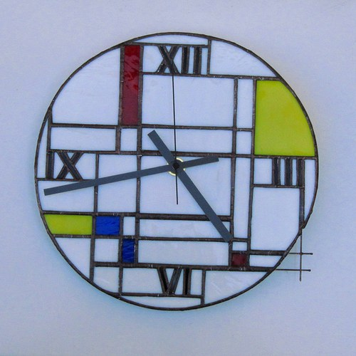 Hodiny 2 - Inspired by Mondrian