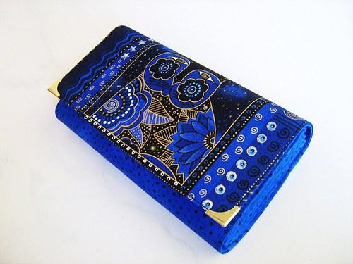 Luxusní Šelmička v modré - 17 x 10,5