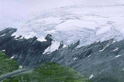 mizející ledovec