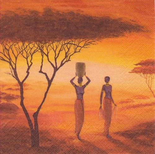 Ubrousek - africké ženy