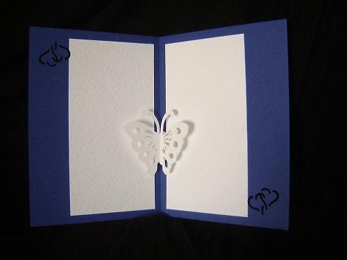 Motýlek ze srdce
