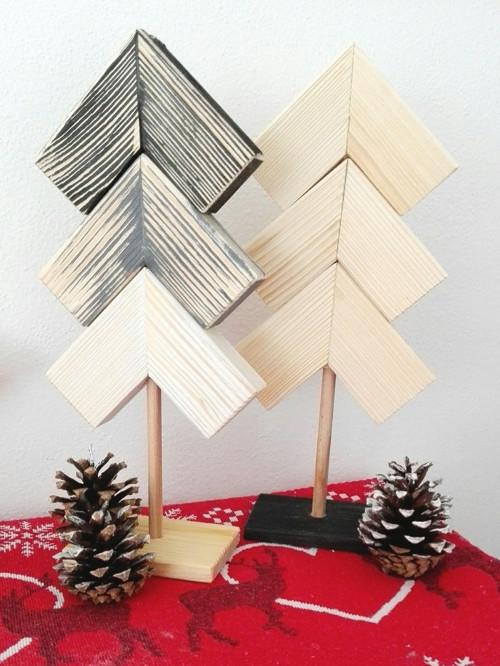 Vianočné stromčeky - set 2ks