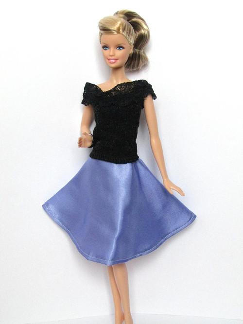 Lila sukně Violeta SLEVA z 49 Kč.