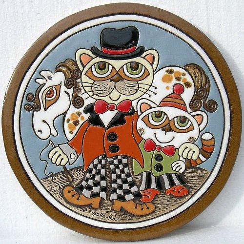 Keramický obrázek - Manéž K-143-N