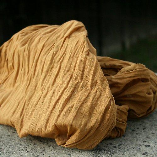 zlatohnědá...bavlněná šála