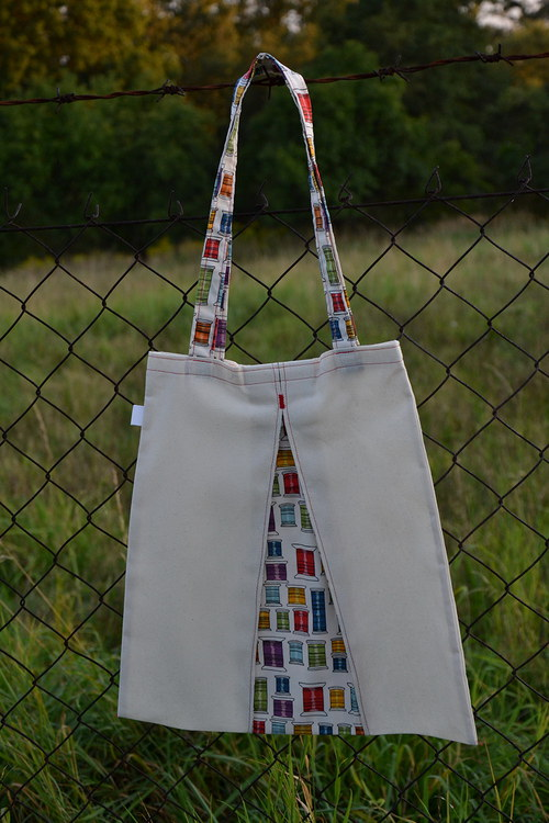 Fotonávod na ušití tašky na cokoliv.