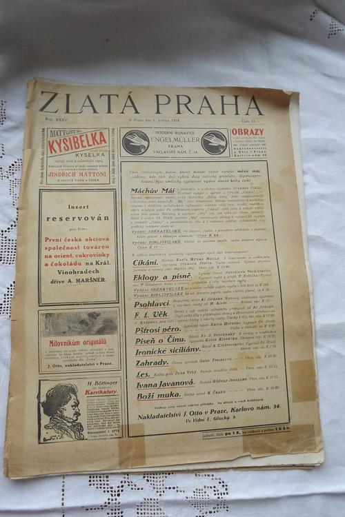 Zlatá Praha č. 31