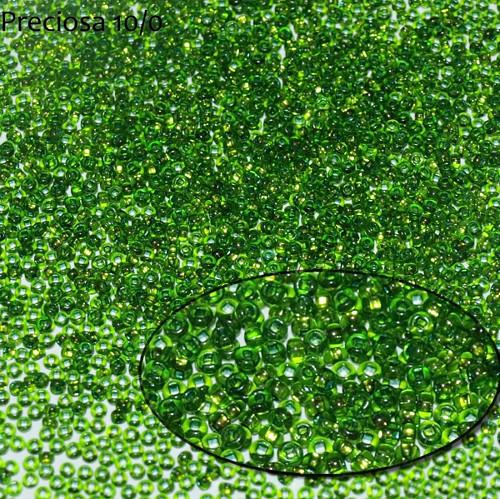 Rokajl Preciosa 6/0, S-L Peridot