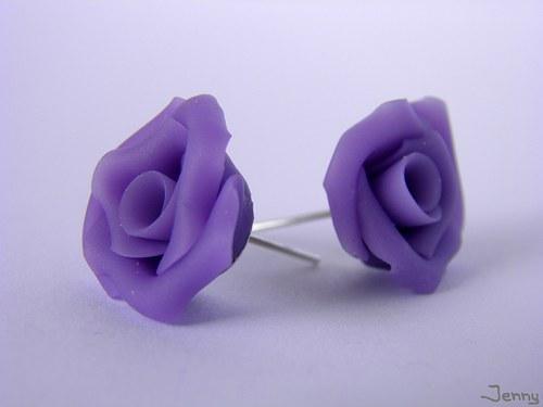 Fialové ružičky