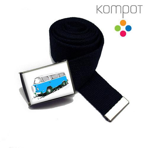 PÁSEK s modrým minibusem