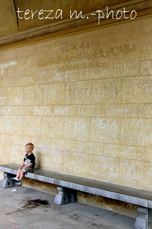 Zeď se vzkazem pro Tebe