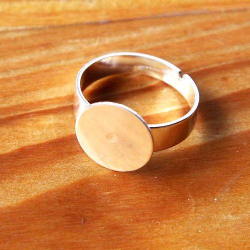 Prsten 12mm - Platinový