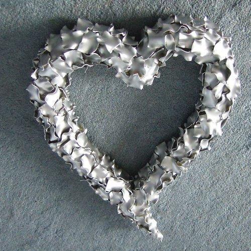 Srdce-stříbrné,zlaté