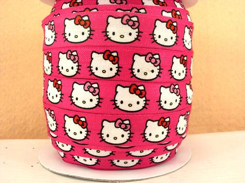 Pruženka/guma š. 16 mm: Hello Kitty
