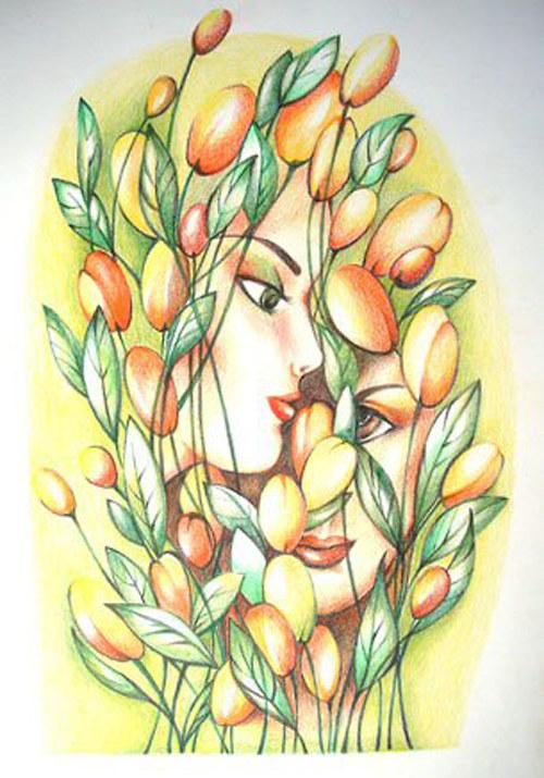Brouzdání v květinách