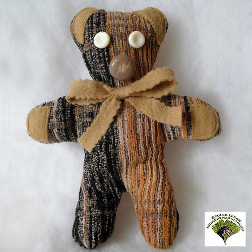 Medvídek - hnědý mazlík PRO ÚTULEK LESAN