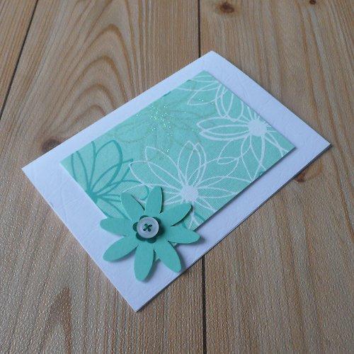 Jarní zelené-tyrkysové