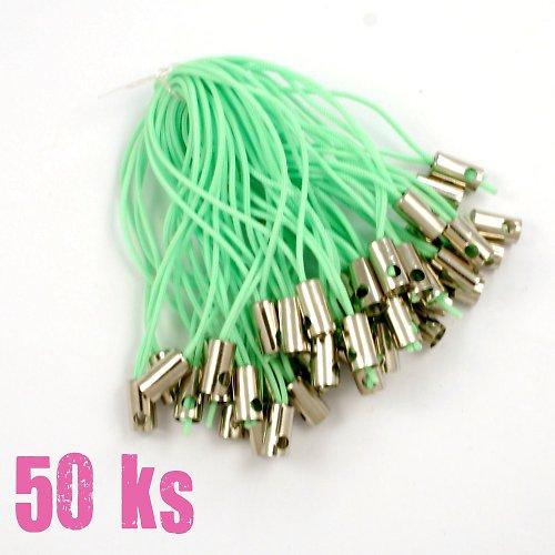 Světle zelená poutka - 50 ks