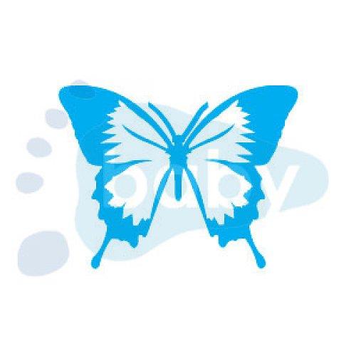 Razítko motýl 8 x 6 cm