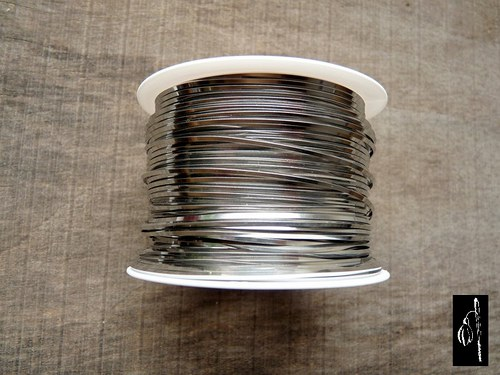 Měkký nerezový drát 0,8x0,8 mm, 1 m