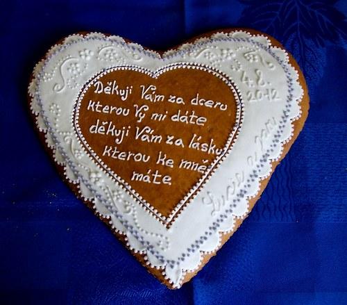 srdce děkovací s básničkou