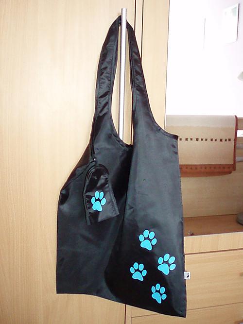 Nákupní taška s tlapkou